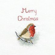 Derwentwater Designs Snow Robin Cross Stitch Kit