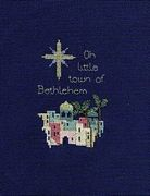 Derwentwater Designs Bethlehem Christmas Card Making Cross Stitch Kit