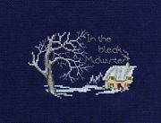 Derwentwater Designs Midwinter Christmas Card Making Cross Stitch Kit
