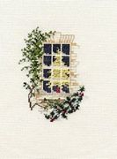 Derwentwater Designs Christmas Window Christmas Card Making Cross Stitch Kit