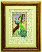 Anchor Renaissance Peacock Cross Stitch Kit