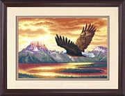 Silent Flight - Dimensions Cross Stitch Kit