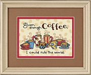 Dimensions Enough Coffee Cross Stitch Kit