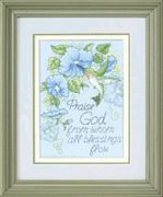 Hummingbird and Morning Glories - Dimensions Cross Stitch Kit