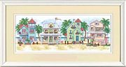 Seaside Cottages - Dimensions Cross Stitch Kit