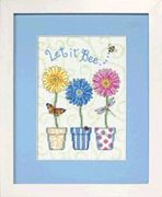 Let It Be - Dimensions Cross Stitch Kit