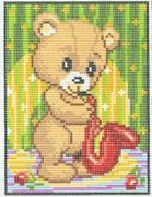Musical Bear - Pako Tapestry Kit
