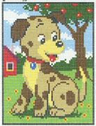 Puppy - Pako Tapestry Kit
