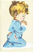 Boy Praying - Pako Tapestry Kit