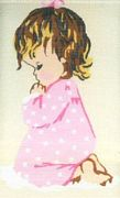 Girl Praying - Pako Tapestry Kit