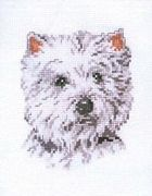West Highland Terrier - Pako Cross Stitch Kit