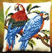 Two Parrots - Pako Cross Stitch Kit