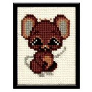 Pako Mouse Cross Stitch Kit