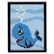 Pako Whale Cross Stitch Kit