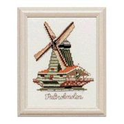 Pako Windmill Cross Stitch Kit