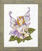 Pako Purple Columbine Fairy Cross Stitch Kit