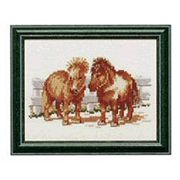 Two Ponies - Pako Cross Stitch Kit