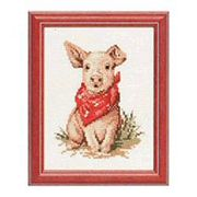 Pako Pig Cross Stitch Kit
