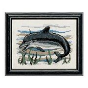 Dolphin - Pako Cross Stitch Kit