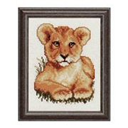 Lion Cub - Pako Cross Stitch Kit