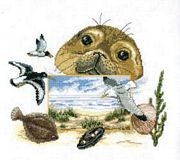 Wildlife by the Sea - Pako Cross Stitch Kit