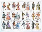 Historical Fashion - Pako Cross Stitch Kit
