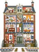 Dolls House - Pako Cross Stitch Kit
