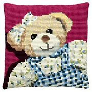 Pako Girl Teddy Cross Stitch Kit
