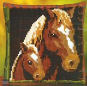 Pako Mare and Foal Cross Stitch Kit