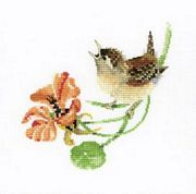 Simply Wren - Aida - Heritage Cross Stitch Kit