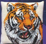 Pako Tiger Cross Stitch Kit