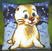 Pako Seal Pup Cross Stitch Kit
