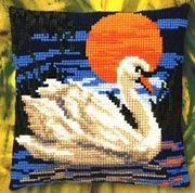 Swan at Sunset - Pako Cross Stitch Kit