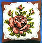 Pako Single Red Rose Cross Stitch Kit