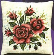 Red Roses - Pako Cross Stitch Kit