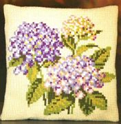 Pako Hydrangeas Cross Stitch Kit