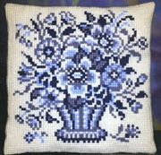 Pako Delftblue Cross Stitch Kit