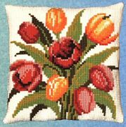 Pako Tulips Cross Stitch Kit