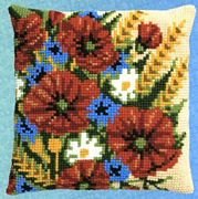 Pako Poppies Cross Stitch Kit