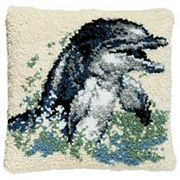 Pako Dolphin Latch Hook Rug Kit