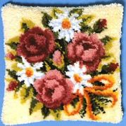 Pako Flowers Latch Hook Kit