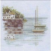 Derwentwater Designs Quayside - Linen Cross Stitch Kit