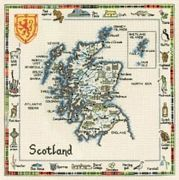Scotland - Heritage Cross Stitch Kit