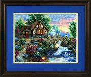 Twilight Bridge - Dimensions Cross Stitch Kit