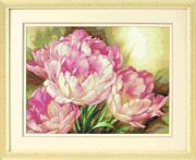 Tulip Trio - Dimensions Cross Stitch Kit