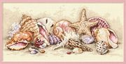Seashell Treasures - Dimensions Cross Stitch Kit