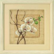 Dimensions Oriental Orchids Cross Stitch Kit