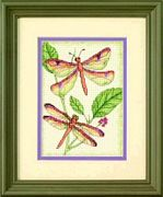 Dimensions Dragonfly Duo Cross Stitch Kit
