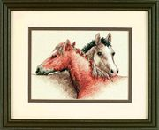 Dimensions Horse Pals Cross Stitch Kit