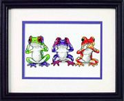 Treefrog Trio - Dimensions Cross Stitch Kit